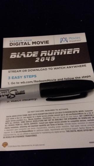 BLADE RUNNER 2049 DIGITAL HD