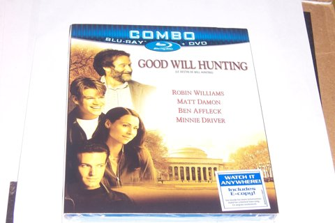 GOOD WILL HUNTING BLU-RAY & DVD- NEW