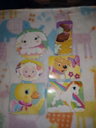 ❤✨❤✨❤️6 BRAND NEW LARGE ASSORTED ANIMAL STICKERS❤✨❤✨❤#2