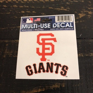 SF Giants Multi-Use Decal