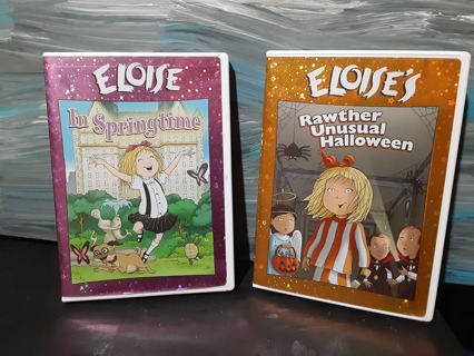 "2 ~ AWESOME ""ELOISES"" DVD'S"