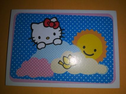Hello kitty sticker card No refunds! Good quality! Lowest gins No lower! Selling out deals!