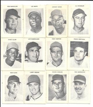 1969 Baseball Vintage ~ Milton Bradley Company