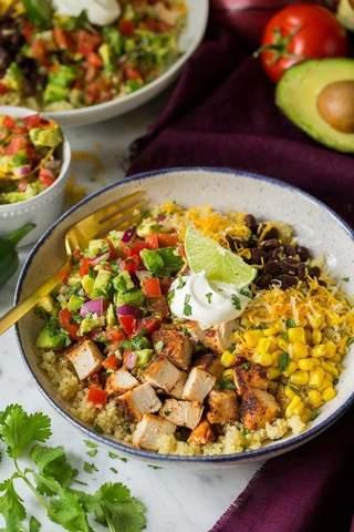 ❄ (New) Zesty California Chicken Bowl Recipe ❄