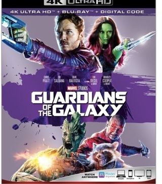 Guardians Of The Galaxy digital move code from Blu Ray