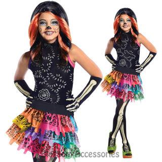 monster high skelita calaveras halloween kids costume - Skelita Calaveras Halloween Costume