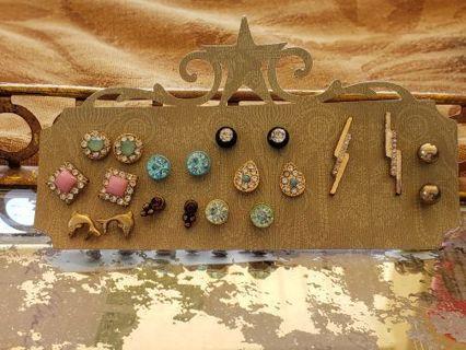 Pre owned stud earrings