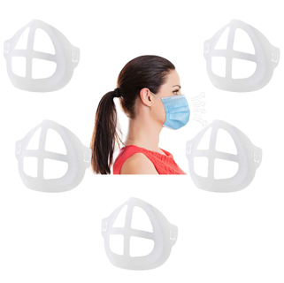 As Seen On TV - Silicone Mask Bracket| Face Bracket For Mask Inner Support Frame 5 Pack