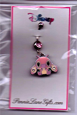 Free New Adorable Disney Stitch Belly Ring Navel Ring Approx 1