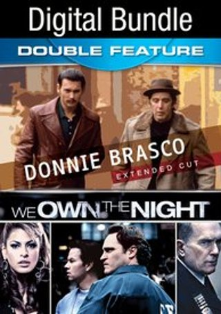 Donnie Brasco and We Own the Night- UV Code Only- No Discs