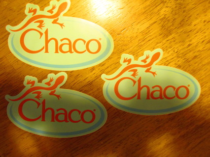 Free: 3 Chaco Stickers - Stickers - Listia com Auctions for