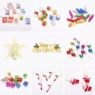 Santa Candy Crutch Pendant pine marry Tree Christmas