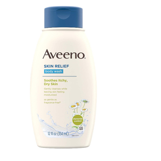 Aveeno Skin Relief Body Wash with Chamomile Scent & Soothing Oat,