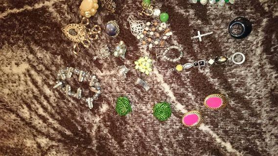 lot of junk jewelry