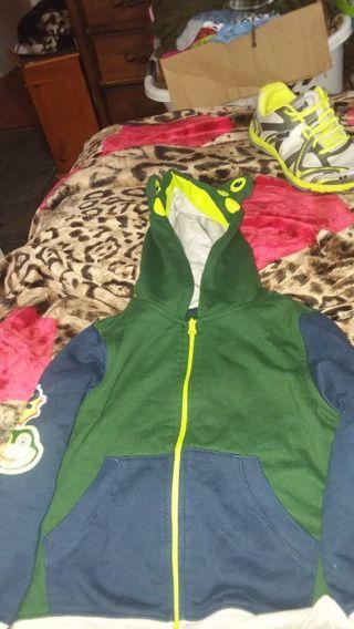 Boy frog jacket size 4T by wonder kids
