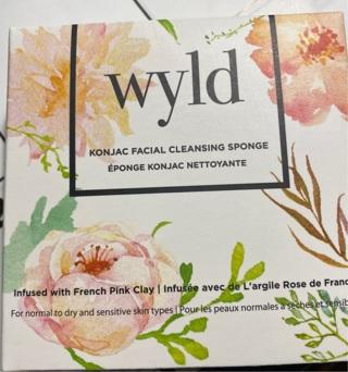 Wyld Konjac Facial Cleansing Sponge
