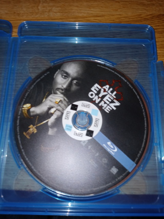 All Eyez On Me Blu Ray