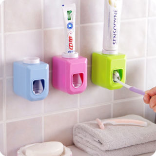 Automatic Toothpaste Dispenser Squeezer Dispenser Hands Free Squeeze Holder Home