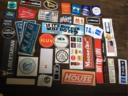 75 stickers