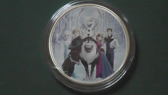 Frozen Commemorative Coin