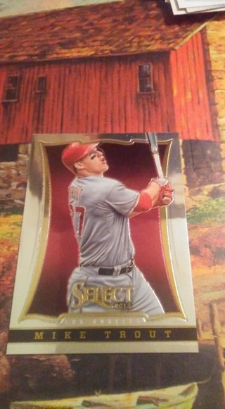 Mike Trout - Mookie Betts - 2 Card Lot