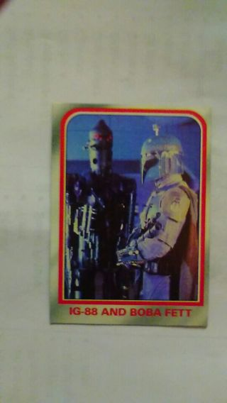 Boba fett and his buddy ig-88