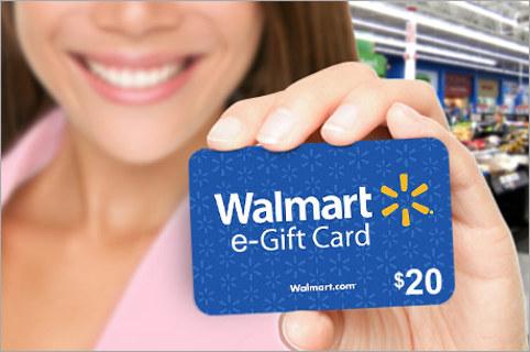 $20 WALMART E-CARD (GIN 40,000)