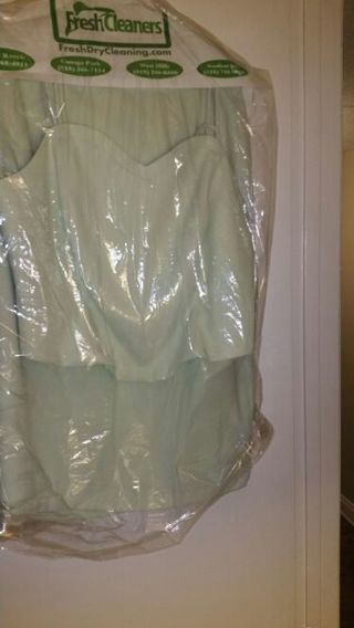 Ladies EASTER 2pc suit...Misses Mint Green .... Spring summer Pencil skirt spaghetti (size: 8)