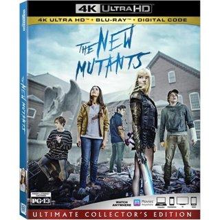 ♨️Brand New The New Mutants 4K + Blu-Ray + Digital Code♨️