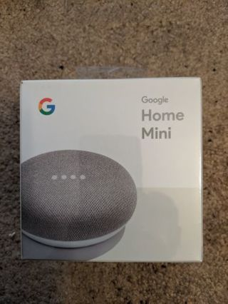 brand new sealed Google home mini Chalk