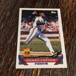 1993 Topps - [Base] #331 Kenny Lofton