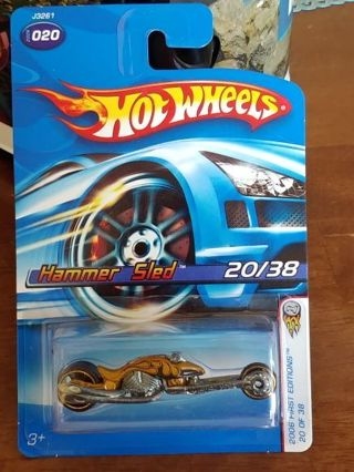 Hot Wheels - Hammer Sled Motorcycle