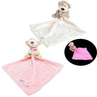 Washable Teddy Bear Baby Kids Comforter Plush Stuffed Blanket Soft Smooth Toy