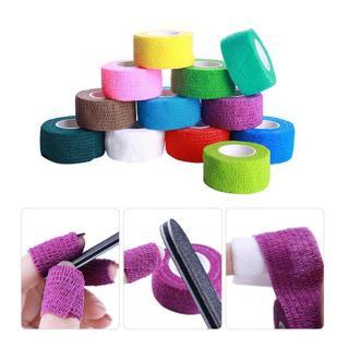 Nail Art Gel Polish Remove Bandage Adhesive Roll Tape Skin Care Protect Random