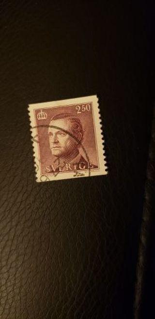 Sweden stamp. Used