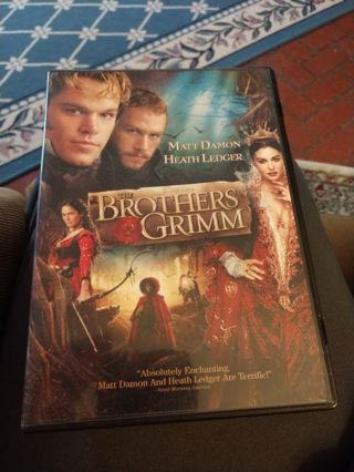 The Brothers Grimm DVD