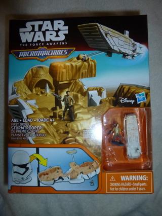 New Star Wars Micro Machines Stormtrooper Playset