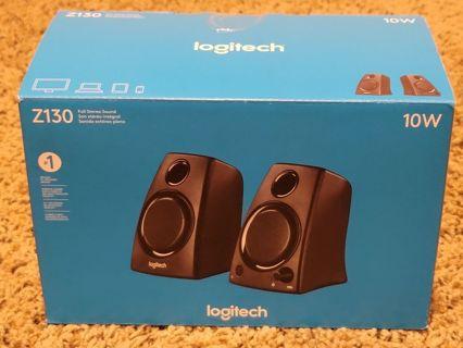 Logitech Z130 10W computer speakers