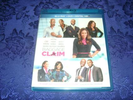 Baggage Claim Blu Ray + DVD Sealed Copy