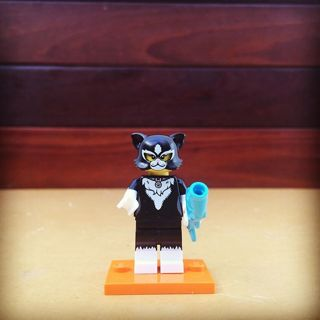 New Cat Costume Minifigure Building Toy Custom Lego