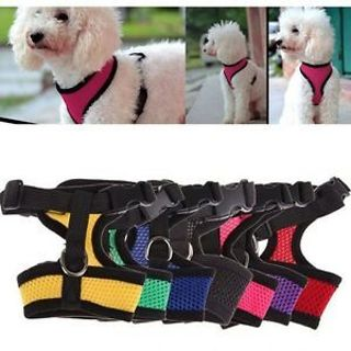 New Walk Puppy Control Safety Mesh Dog Strap Cat Vest Braces Collar Cloth