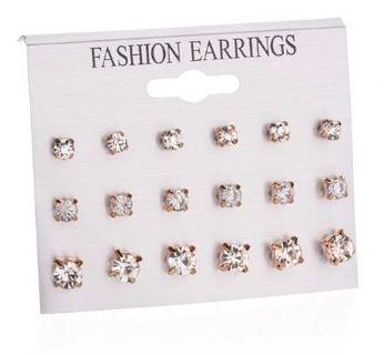New Style Symbol Stud Earrings Set for Women Gift E957