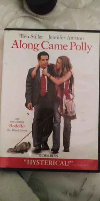 Along Came Polly.  Ben Stiller Jennifer. Aniston