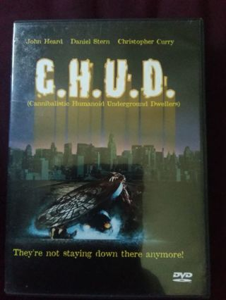 C.H.U.D DVD USED EXCELLENT CONDITION