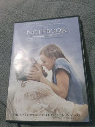 Movie The notebook dvd