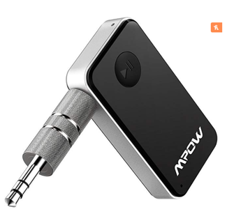 VALENTINE GIFT  Mpow Bluetooth Receiver, Streambot Mini Bluetooth Car Aux Adapter