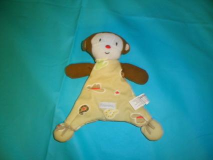 Vitamins Baby Blankie Buddy Cowboy Monkey