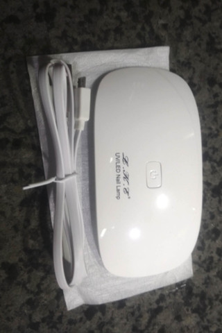 12W Nail Dryer LED UV Lamp Micro USB Gel Varnish Curing Machine