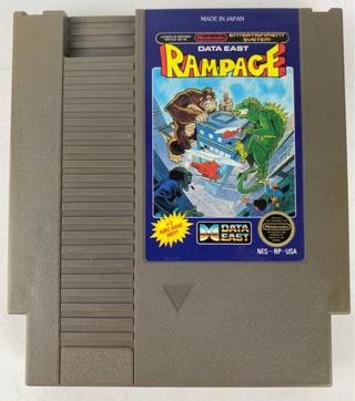 ✯Rampage (Nintendo Entertainment System NES 1988) Game Cartridge ~ FREE SHIPPING✯