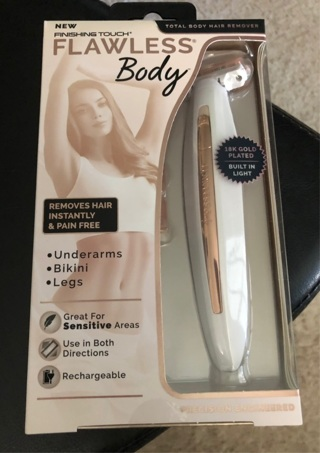 Finishing touch flawless body brand new free shipping
